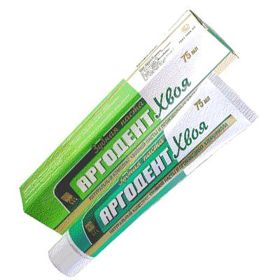 Паста зубная «Аргодент Хвоя» 1