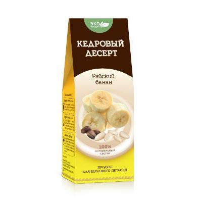 Кедровый десерт «Райский Банан» 1