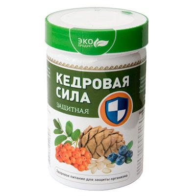 Продукт белково-витаминный «Кедровая сила Защитная»