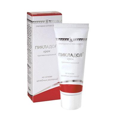 Крем от псориаза Пикладол 1
