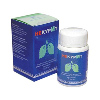 Конфеты с экстрактами «НекурИт»